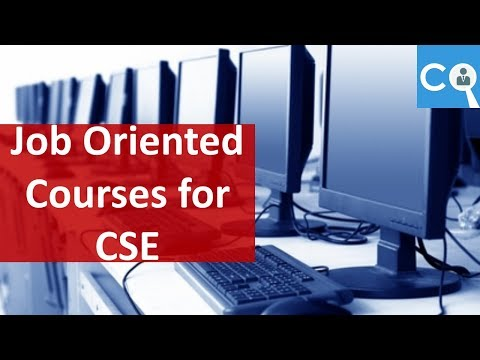 Job Oriented Courses in For Computer Science Engineers - YouTube