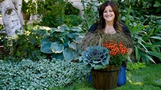 Classic Fall Container // Garden Answer