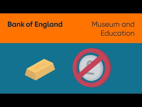 Gold and the Bank of England
