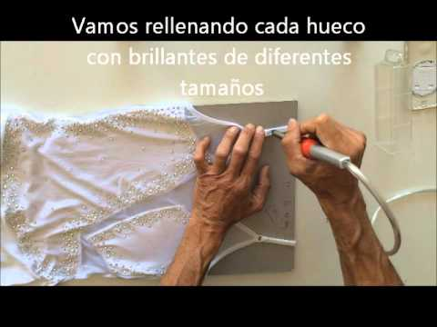 Como decorar un maillot con brillantes fácilmente