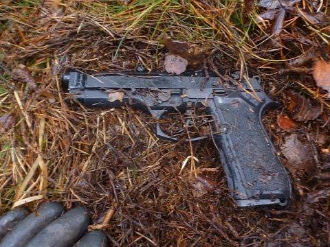 Gun found on special location.