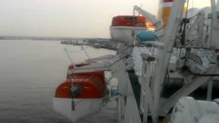 preview picture of video 'SAFETY || LIFE BOAT DRILL KM KELUD || PT PELNI'