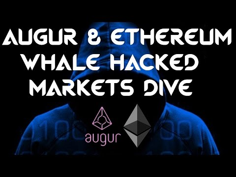 Ethereum & Augur Whale ZCash Funder Hacked: Markets Dive=Use a Hardware Wallet