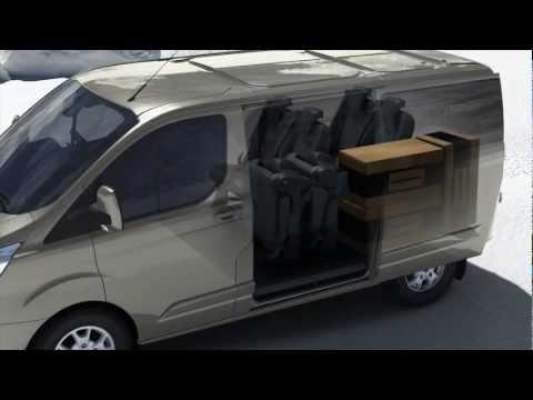 Ford Tourneo Custom Минивен класса M - рекламное видео 3