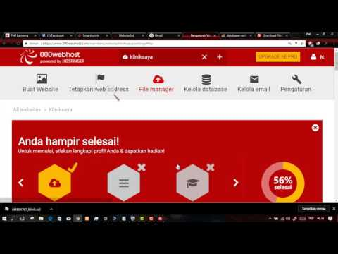 Video Cara Hosting Web secara gratis