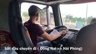 young container driver a working day
