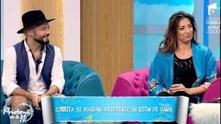 """Cocuţa şi Bogdan Boantă, prietenie în ritm de dans: """"La început nu prea ne suportam"""""""