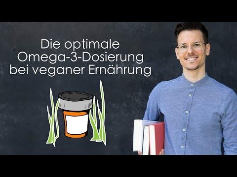 Bonusvideo: Die optimale Omega-3-Dosierung bei veganer Ernährung