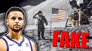 Steph Curry Says Moon Landing Was FAKE | Kholo.pk