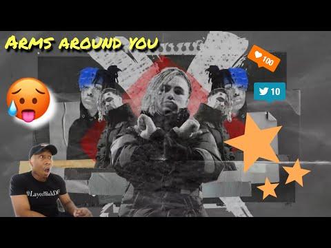 TRASH or PASS! XxxTentacion & Lil Pump ft Maluma & Swae Lee Music Video(Arms around you) REACTION