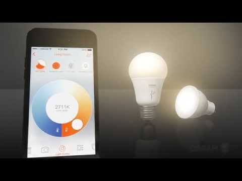 Lightify classic A60 and PAR 16 from Osram