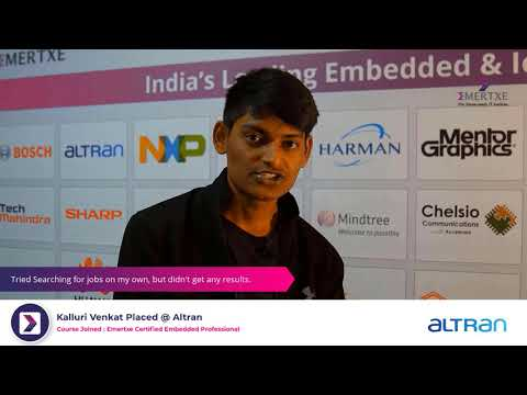 Best Embedded Systems Course with Placement   Kalluri Venkat ...