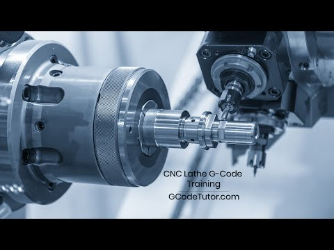 CNC Lathe G-Code programming course - Advert - YouTube