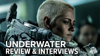Underwater: Movie Review & Interviews with Kristen Stewart & Cast | Extra Butter