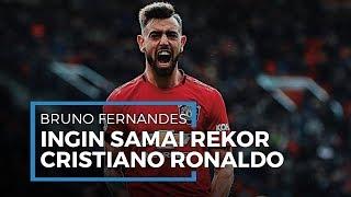 Bruno Fernandes Ingin Saingi Pencapaian Gemilang Ronaldo Kala Masih Membela Manchester United