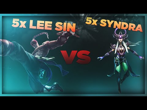 5 LEE SIN VS 5 SYNDRA | One For All Mode - League of Legends