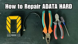 How to Open ADATA HD710   Recover Hard disk   ADATA HD710 Disassembly