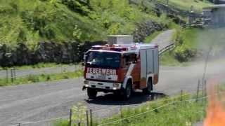 preview picture of video 'Feuerwehr Axams beim Abschnittsübungstag in Götzens'