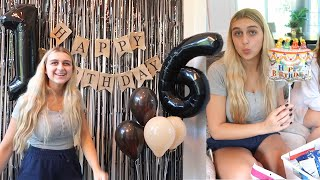 Opening My Sweet 16 Birthday Presents & I Got My Drivers License!