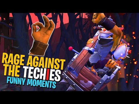 Rage Against the Techies - DotA 2 Funny Moments