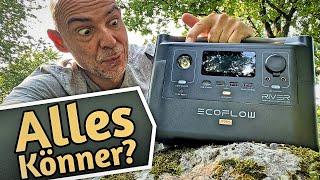 ECOFLOW RIVER PRO Powerstation - Stromliefernde Wollmilchsau? Test & Review mobile Stromversorgung