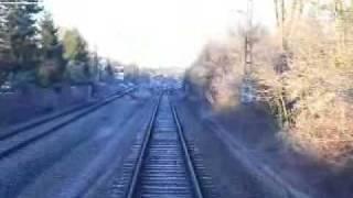 preview picture of video 'Führerstandsmitfahrt S-Bahn München (Harthaus - Germering-Unterpfaffenhofen)'