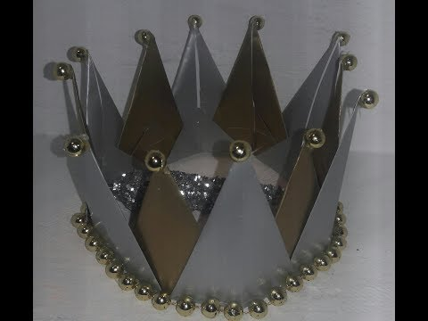 DIY корона короля королевы принцессы. Своими руками корона.