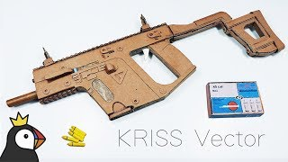 How to Make Kriss Vector from Cardboard - Full Automatic