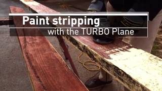 Arbortech TURBO Plane  Paint Stripping
