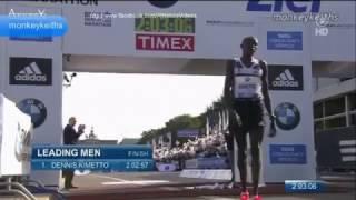 Download Video 2:02.57 MARATHON (World Record Dennis Kimetto Berlin Marathon) MP3 3GP MP4
