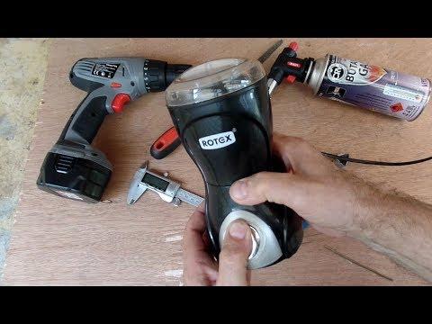 Как сделать нестандартный и простой ремонт кофемолки своими руками