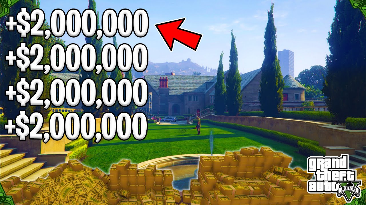 The Very Best Cash Approaches To Do TODAY In GTA 5 Online! (Anybody Can Make Millions Doing These!) thumbnail