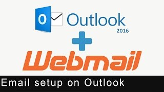 Business/Company Mail Setup over Outlook 2016