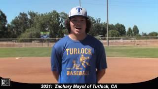 2021 Zachary Mayol Speedy, Athletic Lefty Outfielder Baseball Skills Video