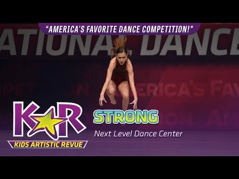 """Strong"" from Next Level Dance Center"
