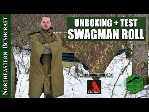 Unboxing Swagman Roll Helicon Tex + rifugio con amaca e poncho
