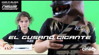 KIB Channel News. El Gusano Gigante. Detrás de las cámaras