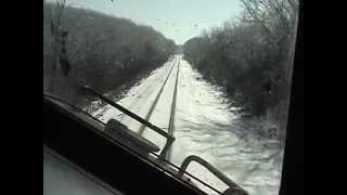 Grain Train Cab Ride Southern Illinois