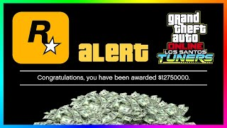 Rockstar Games Is Giving FREE Money To EVERYONE In GTA 5 Online For Playing Los Santos Tuners DLC!