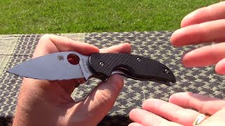 Spyderco Sage 1 - Birds surprising summer favorite