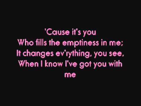 You with lyrics - Jed Madela