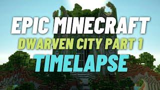Let's Build a Dwarven Town :: DWARF LORDS HOUSE #5 Minecraft