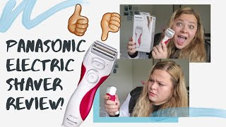 PANASONIC ELECTRIC SHAVER FOR WOMEN'S | WET/DRY |AMAZON REVIEW