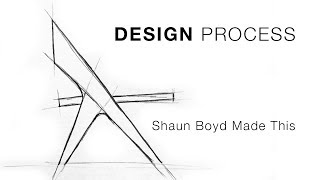 My Furniture Design Process - Shaun Boyd Made This