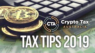 Cryptocurrency Taxation Australia - 2019 Crypto Tax Tips
