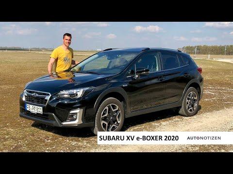 2020 Subaru XV 2.0ie e-Boxer: SUV mit Mild-Hybrid im Review, Test, Fahrbericht