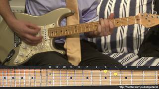 How To Play The Click Five - Happy Birthday On Guitar With Tablature / Tab