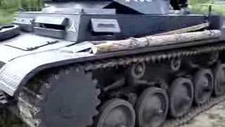 preview picture of video 'Barbarossa Przemysl 2007 cz.II (czołg)'