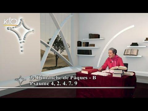 3e dimanche de Pâques B - Psaume