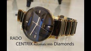 Rado Centrix Men's watch with 8 diamonds